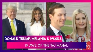 Donald Trump & Melania Walk Hand-In-Hand At The Taj Mahal, Ivanka Finds The Monument 'Awe-Inspiring'